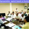 Representation again Assault on Doctors