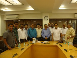 Meeting with Union Health Minister
